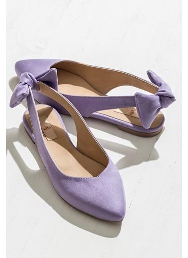 Elle Süet Ayakkabı Lila
